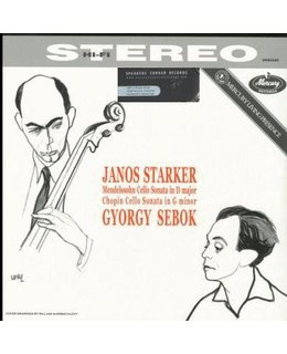 Janos Starker Mendelssohn Bartholdy Sonata for Cello and Piano / Chopin Sona