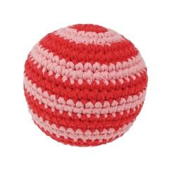 Sindibaba Sindibaba Baby ball curled red crocheted