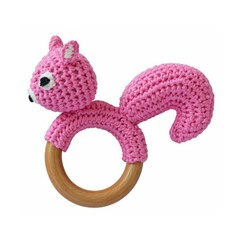 Sindibaba Sindibaba Rassel Greifling Eichhörnchen rosa