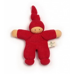 Nanchen Puppen Nanchen poppen Pimpel kersenrood