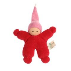 Nanchen Puppen Nanchen Puppen Wichtel rot rosa