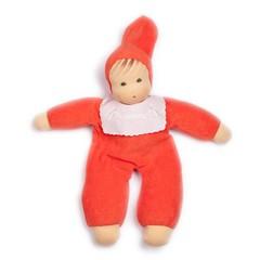 Nanchen Puppen Nanchen Puppen Frotteebaby rot