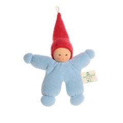 Nanchen Puppen Nanchen poppen elf blauw