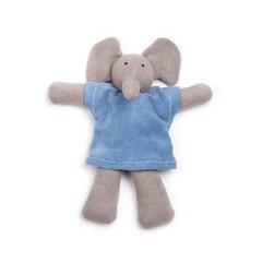 Nanchen Puppen Nanchen Puppen Stofftier Elefant Ele grau