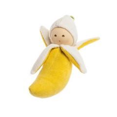 Nanchen Puppen Nanchen poppen Greifling banaan