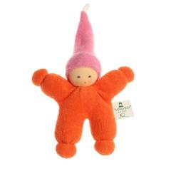 Nanchen Puppen Nanchen dolls Imp orange