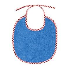 Efie Efie Lätzchen blau klein Vichy Borte kbA