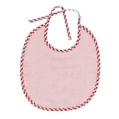Efie Efie Lätzchen rosa klein Vichy Borte kbA