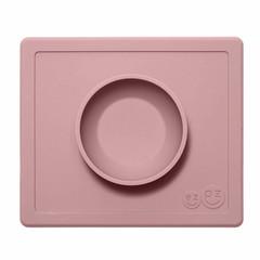 ezpz ezpz Happy Bowl Silikon Platzmatte Schale rosa