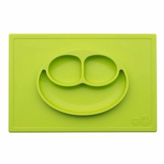 ezpz ezpz Happy Mat Silikon Platzmatte Teller lime grün