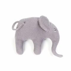 Smallstuff Smallstuff Kissen Elefant klein flieder gestrickt
