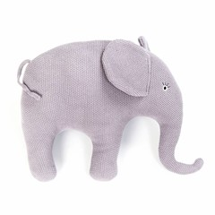 Smallstuff Smallstuff Kissen Elefant groß flieder gestrickt