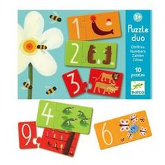 Djeco Djeco Puzzle duo numbers