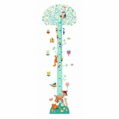 Djeco Djeco Wandsticker Messlatte | Blossoming Tree