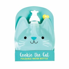 Rex International Rex faltbare Wasserflasche Katze Cookie mint
