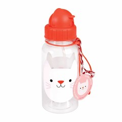 Rex International Rex Wasserflasche Katze Cookie rot 500ml