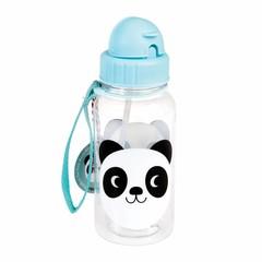 Rex International Rex waterfles Panda Miko blauw 500ml
