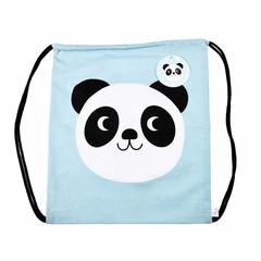 Rex International Rex sporttas Panda Miko blauw katoen