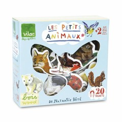 Vilac Vilac Magnet-Box Tiere Nathalie Lètè 20 Stück