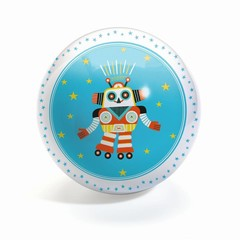 Djeco Djeco Ball Funky Robots 12cm Roboter blau