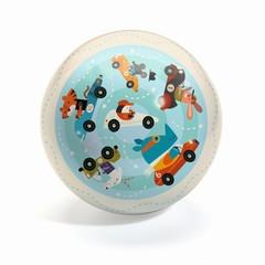 Djeco Ball Traffic 22cm verkeersblauw