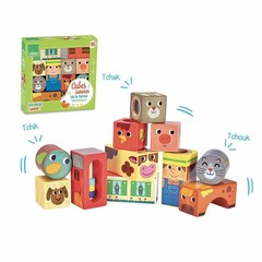 "Vilac Vilac discoverer wooden building blocks ""farm"""