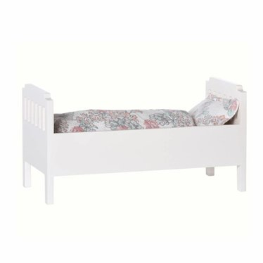 Maileg Maileg doll bed wood white