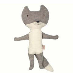 Maileg Maileg Wolf cuddly toy mini gray 22cm