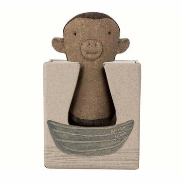 Maileg Maileg Monkey Rattle Toy Mini Noah's Friends