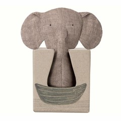 Maileg Maileg Elephant Rattle Knister Ears Mini Noah's Friends