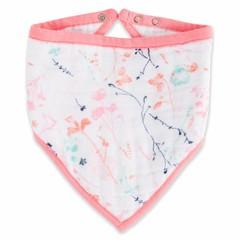 Aden + Anais Aden + Anais sjaal Bandana Bib Petal Bloeit roze