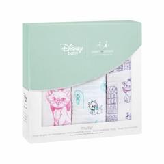 Aden + Anais Aden + Anais Musy Burp Cloth 70x70cm Disney Aristocats 3er