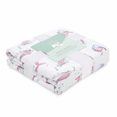 Aden + Anais Aden + Anais Dream Blanket Classic Benita Bird 120x120