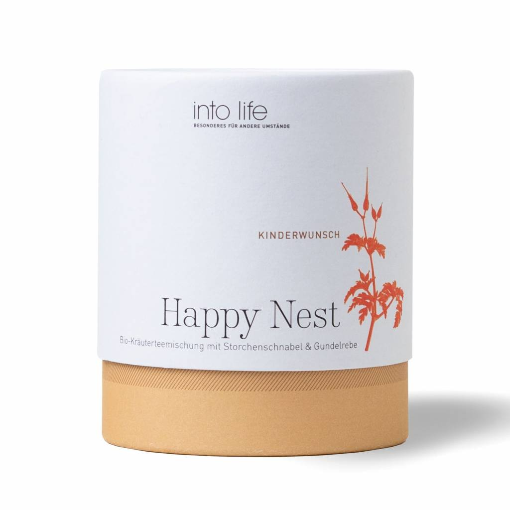 Into Life Tee Happy Nest Kinderwunsch