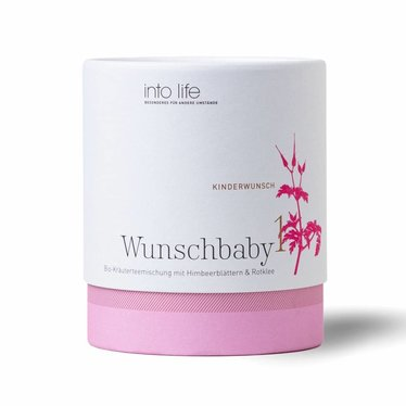 Into Life Into Life Tee Wunschbaby 1 | 1e helft van de cyclus 90g kartonnen doos