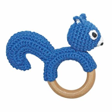 Sindibaba Sindibaba rattle griffin squirrel blue