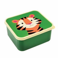 Rex International Rex Brotdose Lunchbox Tiger grün