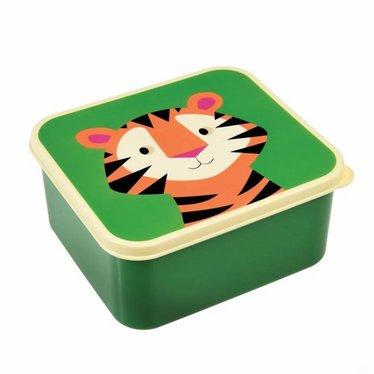 Rex International Rex Brotdose Lunchbox Tiger grün