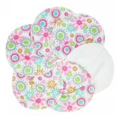 Imse Vimse Imse Vimse nursing pad cotton (organic) pink 3 pairs