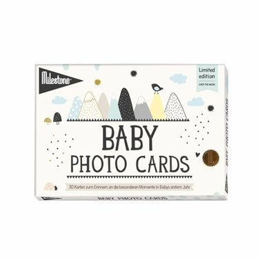 Milestone Cards Milestone Baby Photokarten Over The Moon 30 St.
