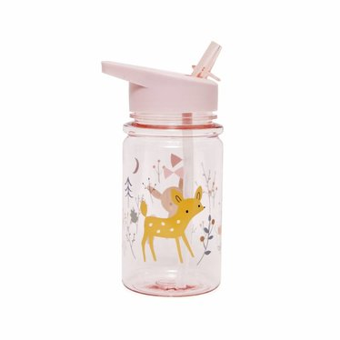 "Petit Monkey Petit Monkey drinking bottle ""Forest Friends"" pink"