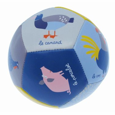 Petit Jour Paris Petit Jour softbal dieren kleurrijke zachte bal