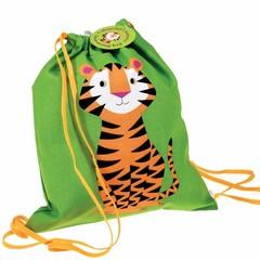 Rex International Rex sporttas Tiger groen katoen