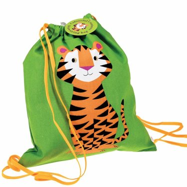 Rex International Rex Turnbeutel Tiger grün Baumwolle