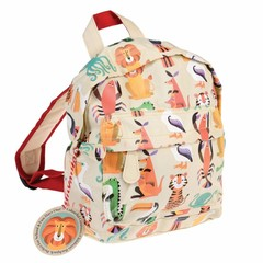 Rex International Rex mini backpack colorful wild animals