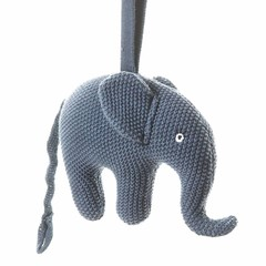 "Smallstuff Smallstuff music box elephant blue ""Good evening ..."""
