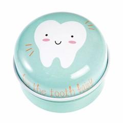 Rex International Rex tooth tin milk tin can made of sheet metal mint