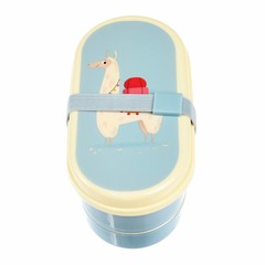 Rex International Rex bread box Bento Box Lama light blue