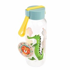 Rex International Rex drinking bottle wild animals colorful 340ml