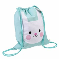 Rex International Rex gym bag Bunny Bonny mint cotton